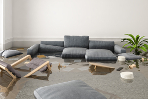 flooded apartment not covered by renters insurance