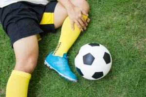 Accident playing soccer needing Sport Insurance