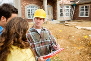 construction worker who has contractors insurance in case of accident
