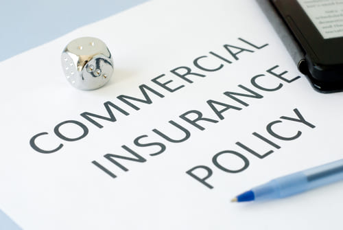 Commercial auto insurance policy