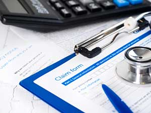 Medical payments claim form