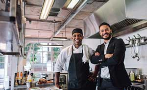 Restaurant owner and cook covered by a business owners policy