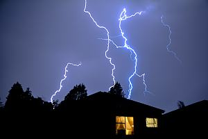 Lightning about rental property
