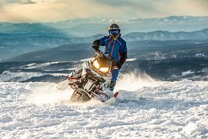 Rider with snowmobile insurance