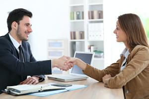 Special event insurance agent closing deal