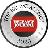 Insurance Journal Top 100 P/C Agency 2020