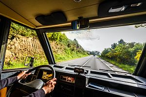Windshield protected by RV insurance
