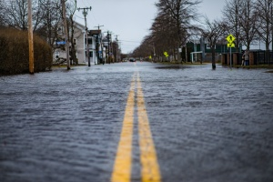 streets showing that people need FEMA Flood Insurance
