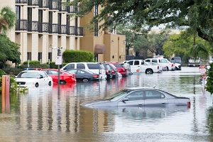 Cars Submerged in the Flood should have commercial flood insurance