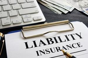 Liability Insurance Agreement on the Desk