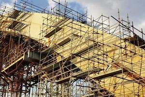 bridge under construction needing Construction Insurance