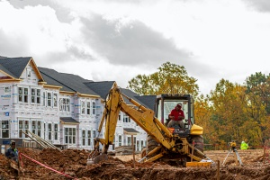 home being built with Homebuilders Insurance
