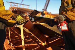 miner supervisor dress as work uniform having franchise insurance